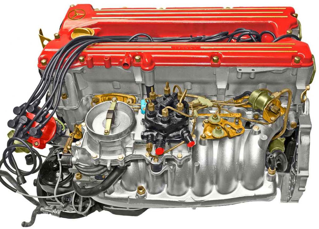 Mercedes Oldtimer Motor